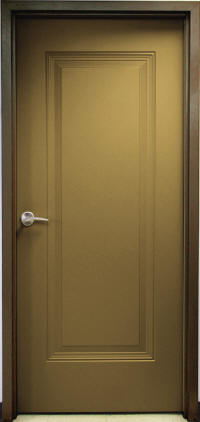 1-Panel Door & Insulated Polyurethane Foam Core Doors