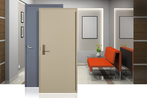Colorstyle Doors And Frames Are Factory Prefinished Commercial Grade,  Standard Or Custom, Designs With Flat Blemish Free Surfaces.